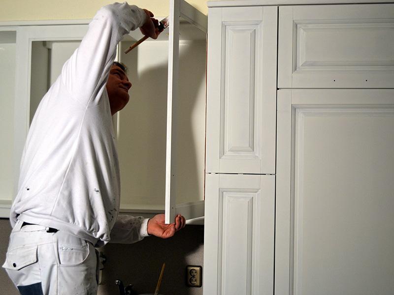 Keukenkastjes Wit Schilderen : Keukenkastjes wit schilderen unieke oude keuken schilderen